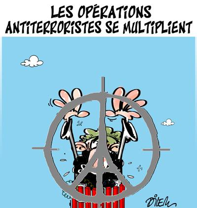 Caricature dilem TV5 du Mercredi 18 novembre 2015