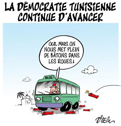 Caricature dilem TV5 du Mercredi 25 novembre 2015