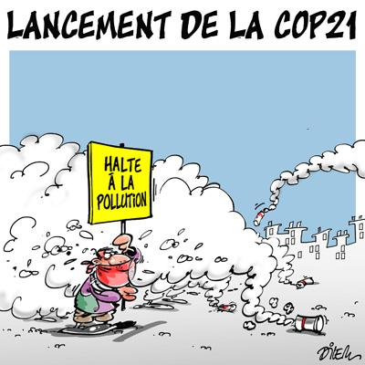 Caricature dilem TV5 du Lundi 30 novembre 2015