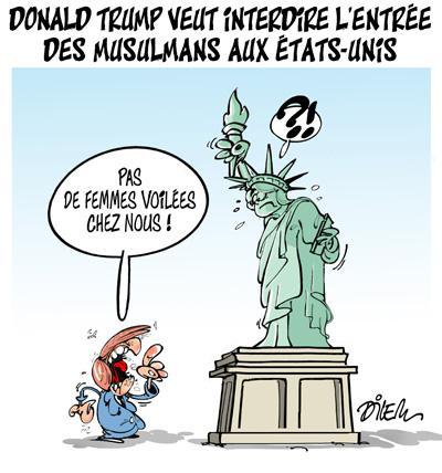 Donald Trump veut interdire l'entrée des musulmans aux ...