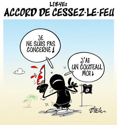 Caricature dilem TV5 du Jeudi 17 décembre 2015
