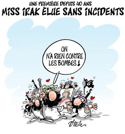 Caricature dilem TV5 du Mercredi 23 décembre 2015