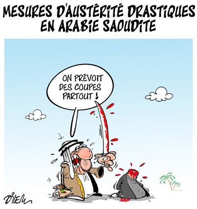 Caricature dilem TV5 du Lundi 04 janvier 2016