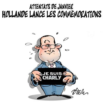 Caricature dilem TV5 du Mercredi 06 janvier 2016