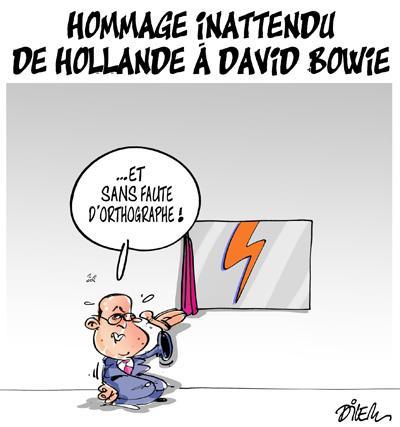 Caricature dilem TV5 du Mercredi 13 janvier 2016