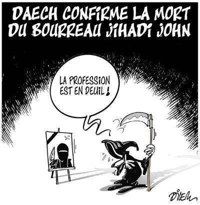 Caricature dilem TV5 du Mercredi 20 janvier 2016