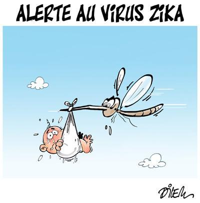 Caricature dilem TV5 du Lundi 01 février 2016