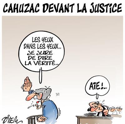Cahuzac devant la justice