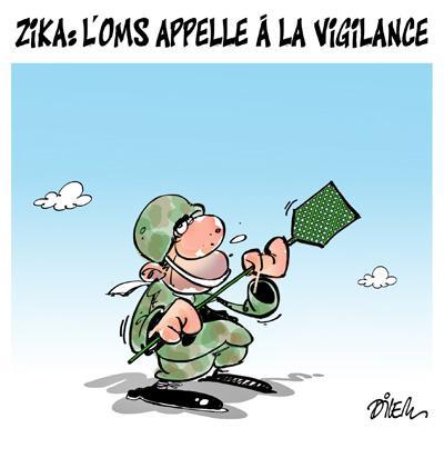 Caricature dilem TV5 du Mercredi 10 février 2016