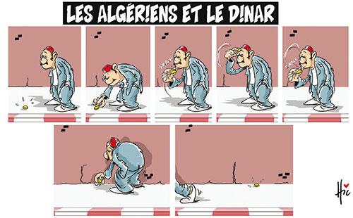 Les Algériens et le dinar