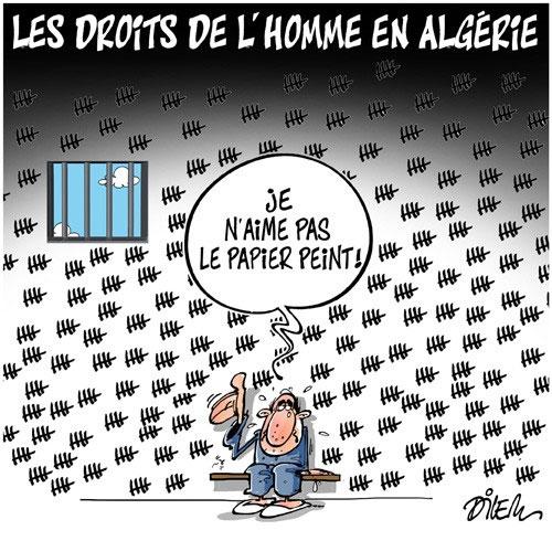 Les droits de l'homme en Algérie