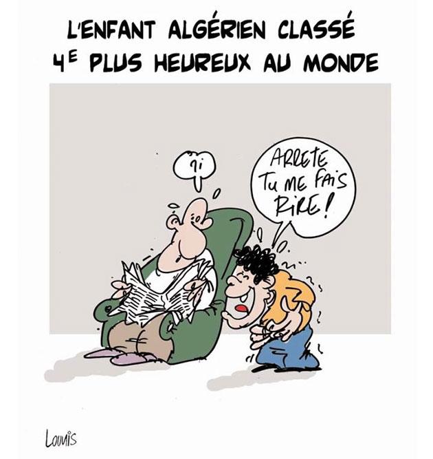 L'enfant algérien classé 4e plus heureux au monde