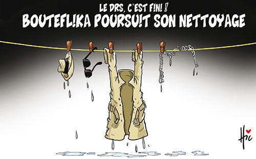 Le drs c'est fini: Bouteflika poursuit son nettoyage