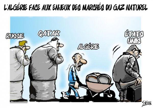 L'Algérie face aux enjeux des marchés du gaz naturel