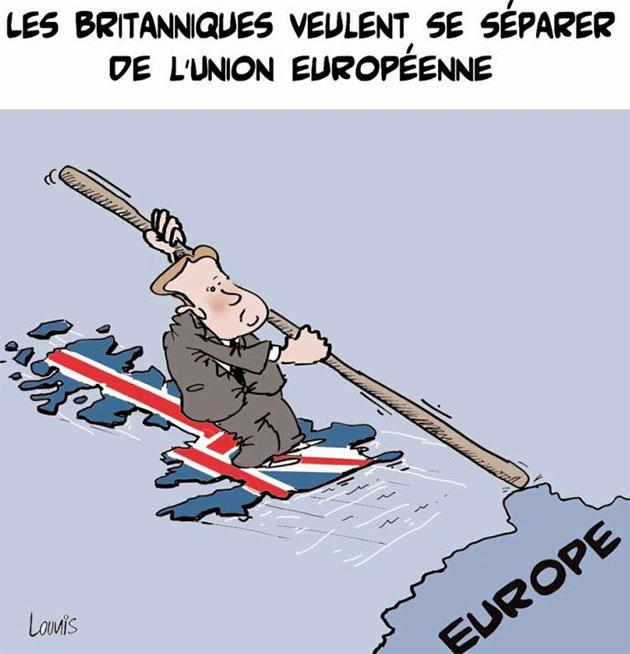 Les Britanniques veulent se séparer de l'union européenne