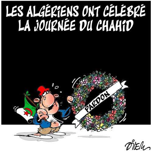 Les Algériens ont célébré la journée du chahid
