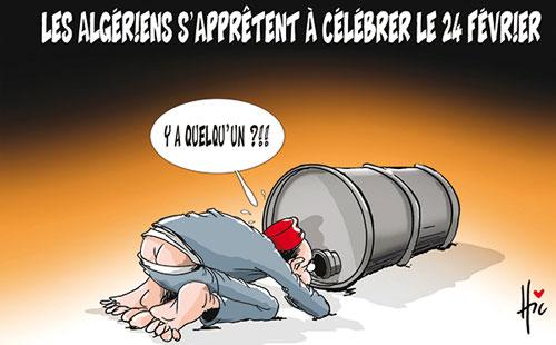 Les Algériens s'apprêtent à célébrer le 24 février