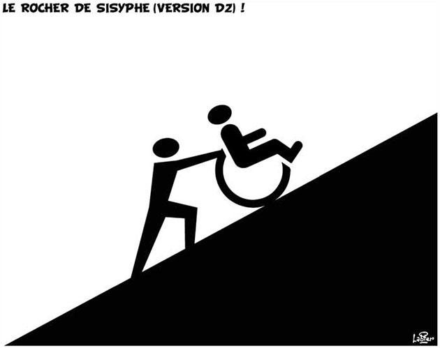 Le rocher de sisyphe (version dz) !
