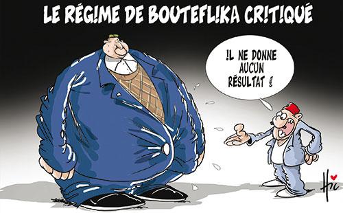 Le régime de Bouteflika critiqué