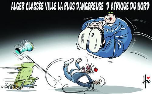 Alger classée ville la plus dangereuse d'Afrique du nord