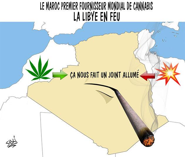 Le Maroc premier fournisseur mondial de cannabis: La Libye en feu
