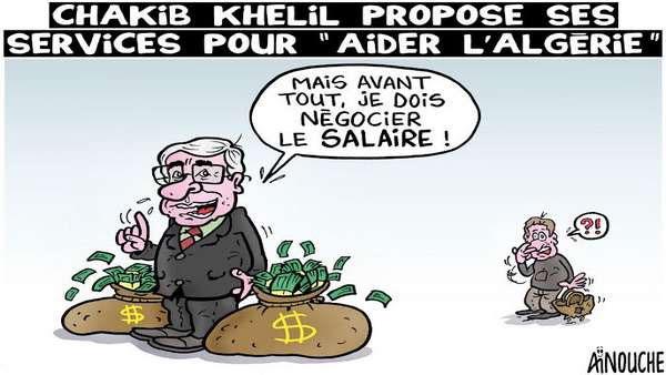 Chakib Khelil propose ses services pour aider l'Algérie