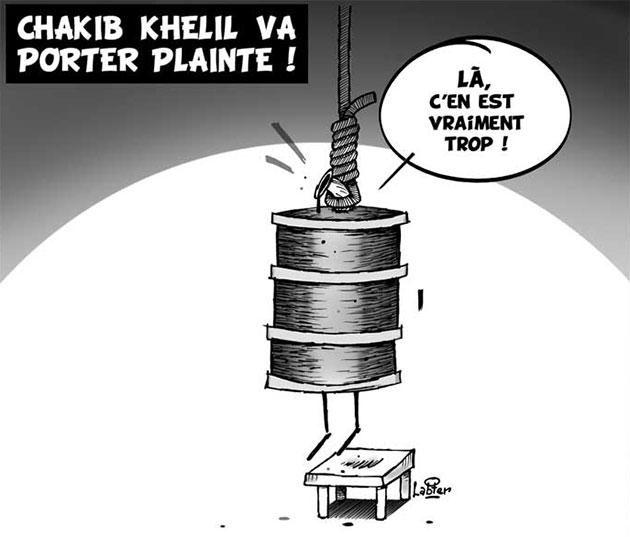 Chakib Khelil va porter plainte