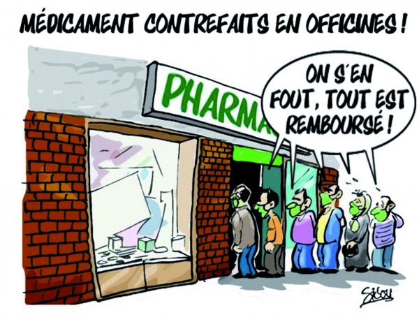 Médicament contrefaits en officines