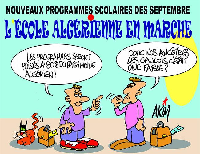 Nouveau programmes scolaires des septembre: L'école algérienne en marche