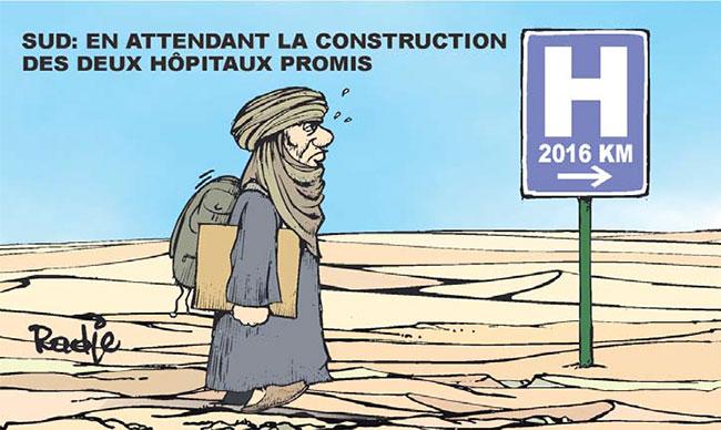 Sud: En attendant la construction des hôpitaux promis