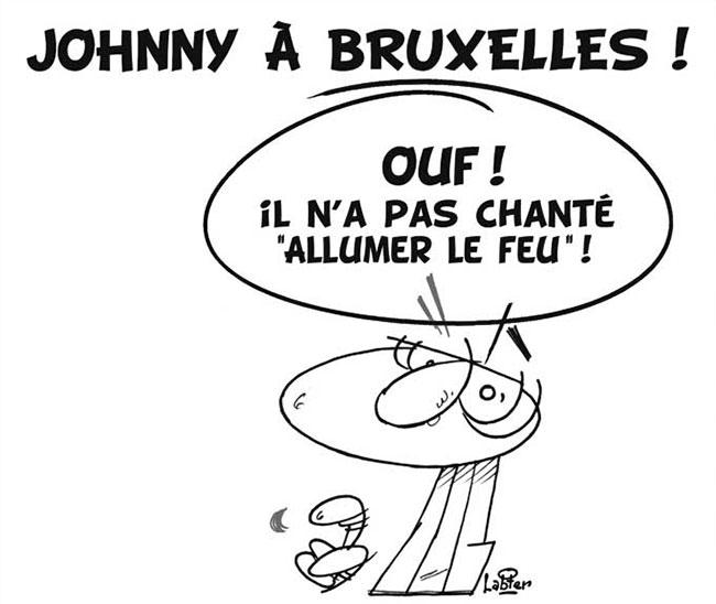 Johnny à Bruxelles
