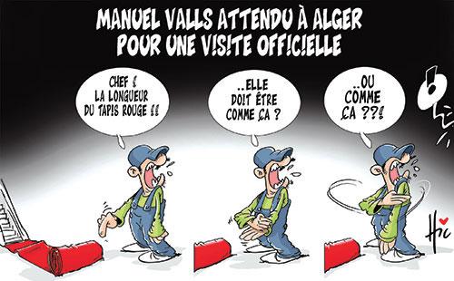 Manuel Valls attendu à Alger pour une visite officielle