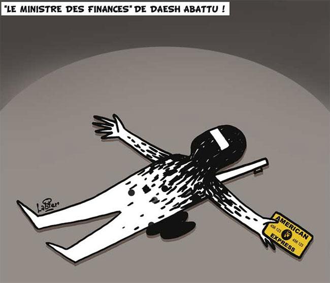 Le ministre des finances de daesh abattu