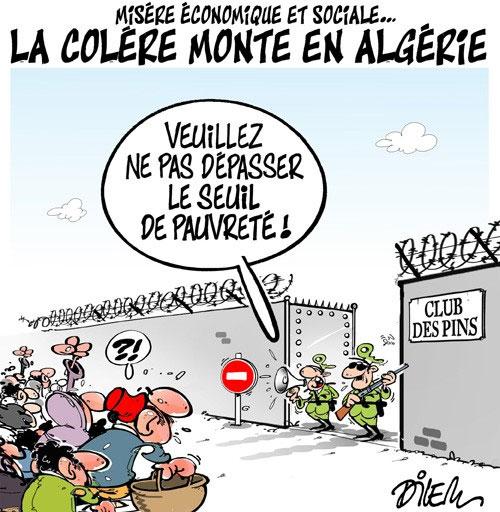 Misère économique et sociale: La colère monte en Algérie