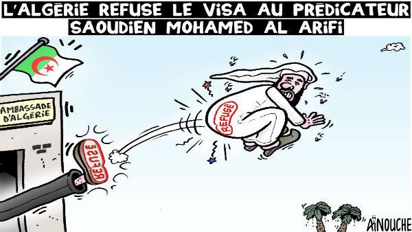 L'Algérie refuse le visa au prédicateur saoudien Mohamed Al Arifi