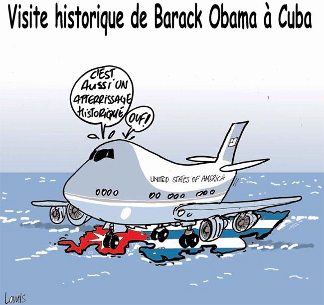 Visite historique de Barak Obama à Cuba