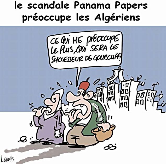 Le scandale Panama papers préoccupe les algériens