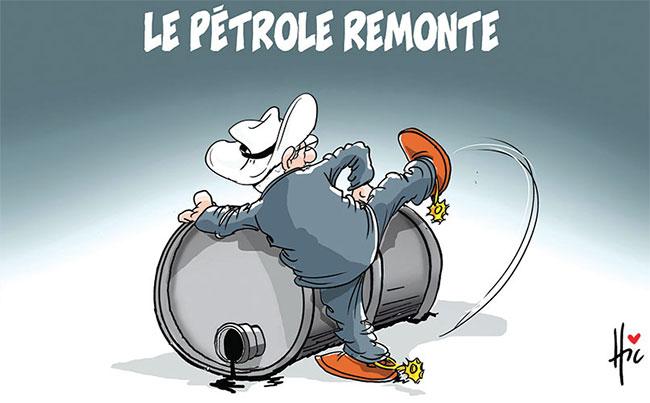 Le pétrole remonte