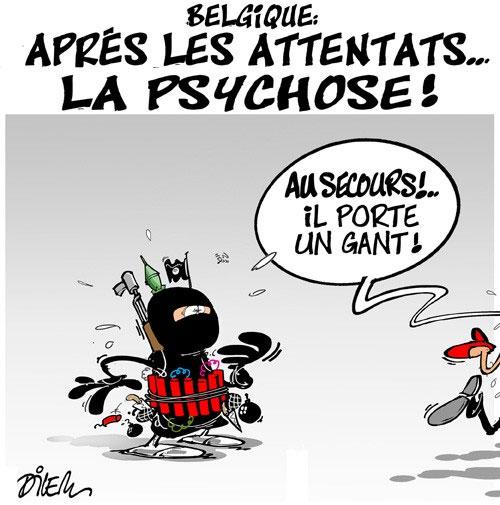Belgique: Après les attentats... la psychose !