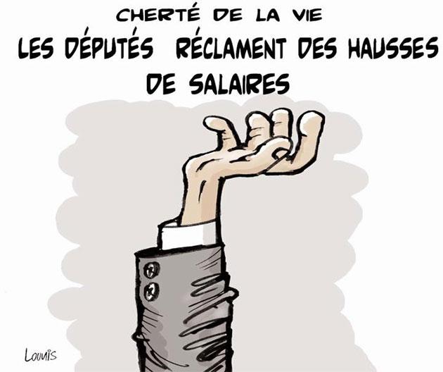 Cherté de la vie: Les députés réclament des hausses de salaires