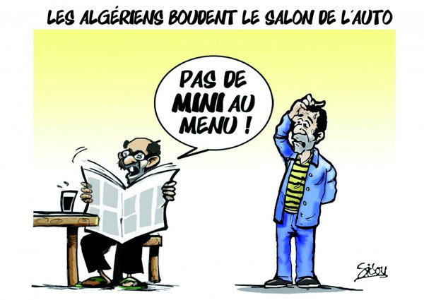 Les Algériens boudent le salon de l'auto