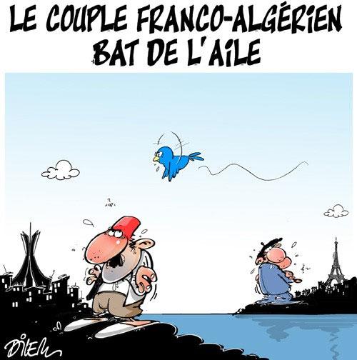 Le couple franco-algérien bat de l'aile