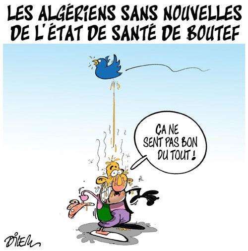 Les Algériens sans nouvelles de l'état de santé de Boutef