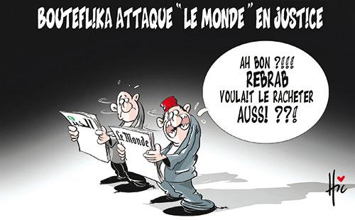 """Bouteflika attaque"""" Le Monde"""" en justice"""
