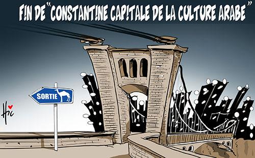 """Fin de """"Constantine capitale de la culture arabe"""""""