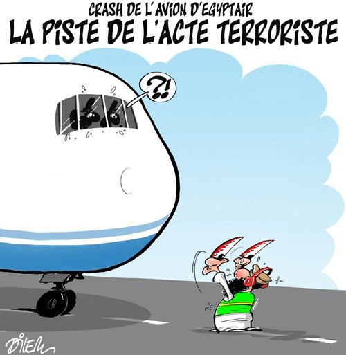 Crash de l'avion d'Egyptair: La piste de l'acte terroriste