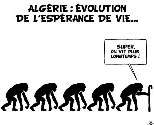 Algérie: Evolution de l'espérance de vie