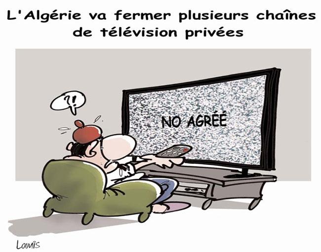 L'Algérie va fermer plusieurs chaînes de télévision privées