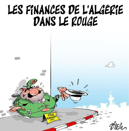 Les finances de l'Algérie dans le rouge
