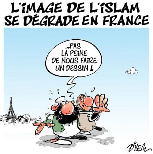L'image de l'islam se dégrade en France
